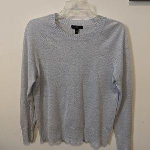 J. Crew Sparkle Lightweight Crewneck Sweater